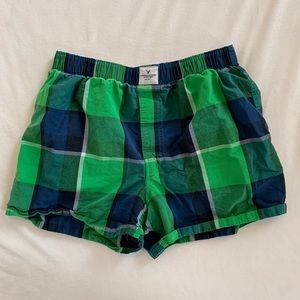 Plaid American Eagle Boxers [M]